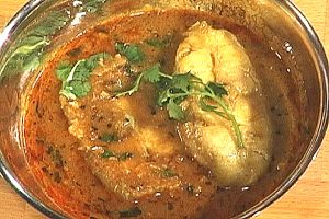 Fish Curry in tamrind sauce