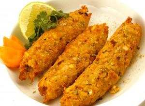 Phaldhari kabab veg sheek Kabab
