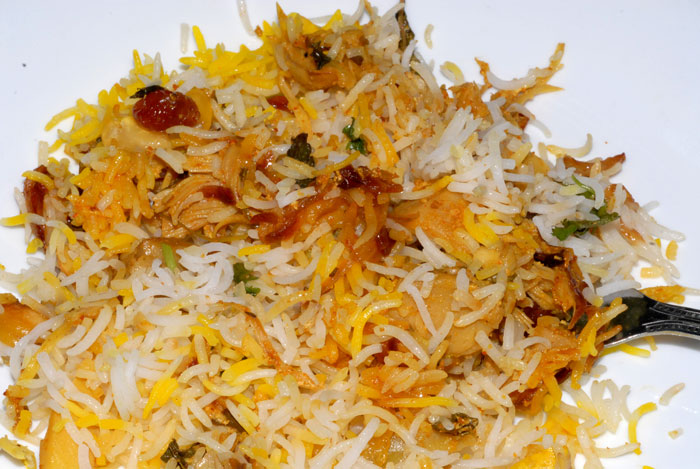 chicken biryani vah chef recipe fried rice