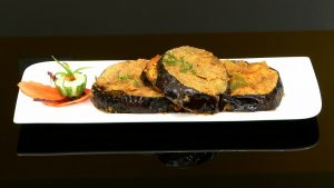 Paneer Stuffed Brinjals/ Eggplants - Philips SuperChef