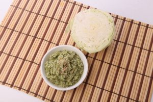 STEAMED CABBAGE CHUTNEY
