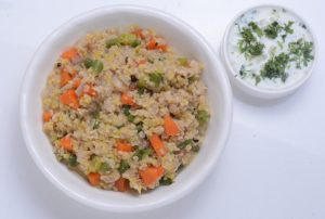 Oats Vegetable Khichdi